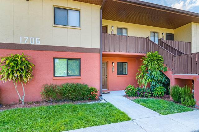 1706 University Lane #603, Cocoa, FL 32922 (MLS #880368) :: Blue Marlin Real Estate