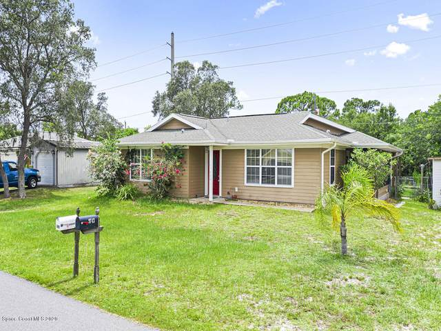 9744 Honeysuckle Drive, Micco, FL 32976 (MLS #880895) :: Blue Marlin Real Estate