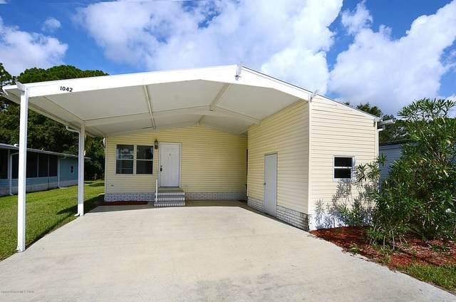 1042 Sebastian Road, Barefoot Bay, FL 32976 (MLS #880905) :: Armel Real Estate