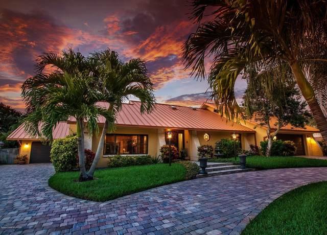 420 Monaco Drive, Indialantic, FL 32903 (MLS #881199) :: Premium Properties Real Estate Services