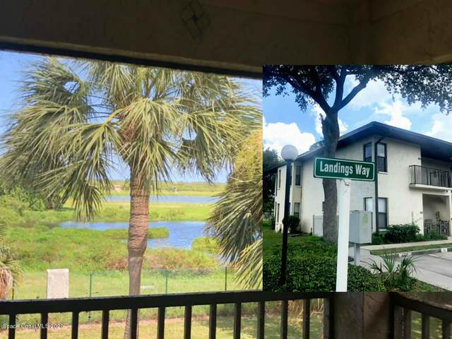 515 Landings Way #74, Merritt Island, FL 32952 (MLS #881442) :: Engel & Voelkers Melbourne Central