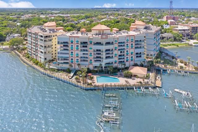 102 Riverside Drive #304, Cocoa, FL 32922 (MLS #881669) :: Blue Marlin Real Estate