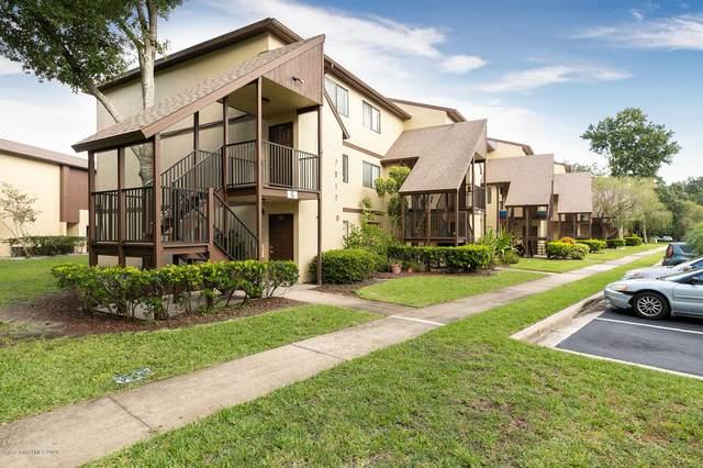 7817 Shadowood Drive #207, West Melbourne, FL 32904 (MLS #882262) :: Engel & Voelkers Melbourne Central