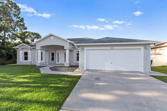466 Delmonico Street NE, Palm Bay, FL 32907 (MLS #882424) :: Blue Marlin Real Estate