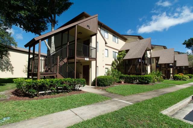 7817 Shadowood Drive #209, West Melbourne, FL 32904 (MLS #882513) :: Engel & Voelkers Melbourne Central