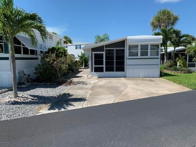 351 Galaxy Lane #162, Melbourne Beach, FL 32951 (MLS #882551) :: Premium Properties Real Estate Services