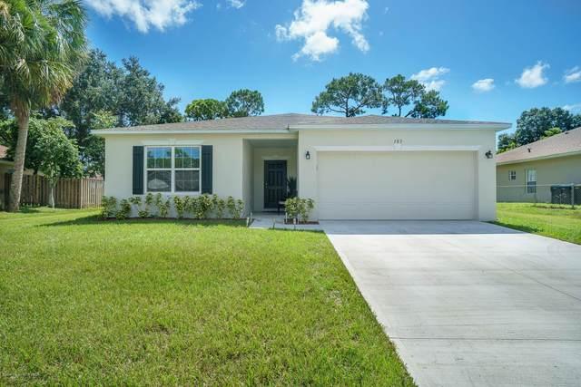 183 Copenhaver Avenue NE, Palm Bay, FL 32907 (MLS #882611) :: Blue Marlin Real Estate