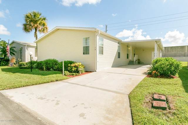 715 Outer Drive #117, Cocoa, FL 32926 (MLS #882636) :: Premium Properties Real Estate Services