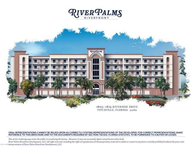 1825 Riverside Drive #601, Titusville, FL 32780 (MLS #882746) :: Premium Properties Real Estate Services