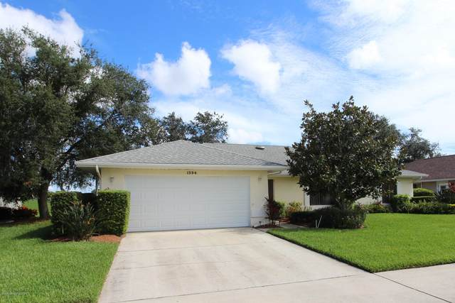 1594 Frontier Drive, Melbourne, FL 32940 (MLS #882839) :: Blue Marlin Real Estate