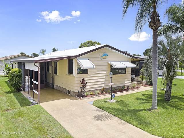 914 Dogwood Drive, Barefoot Bay, FL 32976 (MLS #882872) :: Armel Real Estate