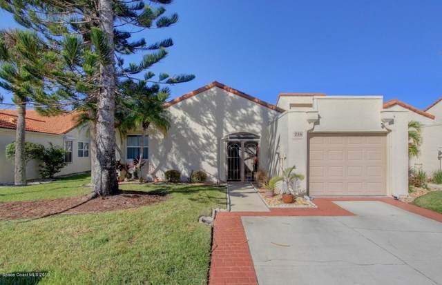 726 Pine Island Drive, Melbourne, FL 32940 (MLS #883142) :: Blue Marlin Real Estate