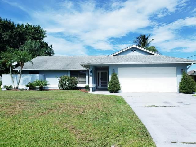 229 SE Whitmore Drive, Port Saint Lucie, FL 34984 (MLS #883207) :: Premium Properties Real Estate Services