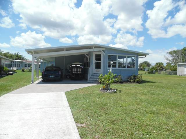 721 Barefoot Boulevard, Barefoot Bay, FL 32976 (MLS #883208) :: Blue Marlin Real Estate