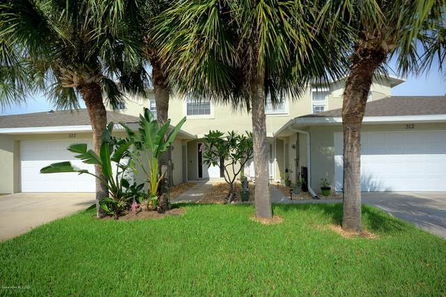 322 Prince William Court, Satellite Beach, FL 32937 (MLS #883467) :: Blue Marlin Real Estate