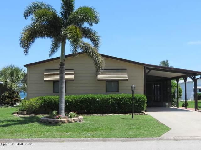 604 Puffin Drive, Barefoot Bay, FL 32976 (MLS #883479) :: Blue Marlin Real Estate