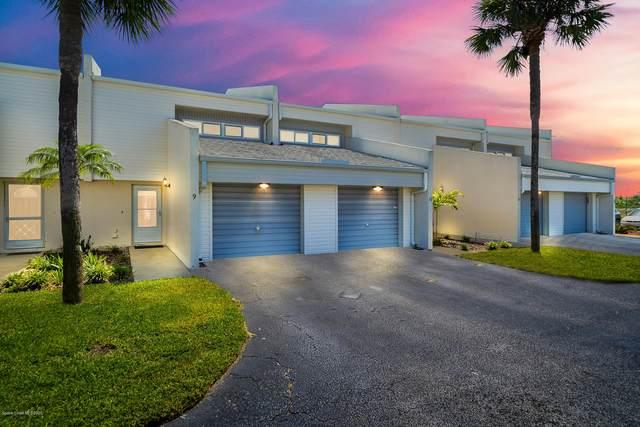 810 Poinsetta Drive #9, Indian Harbour Beach, FL 32937 (MLS #883619) :: Premium Properties Real Estate Services