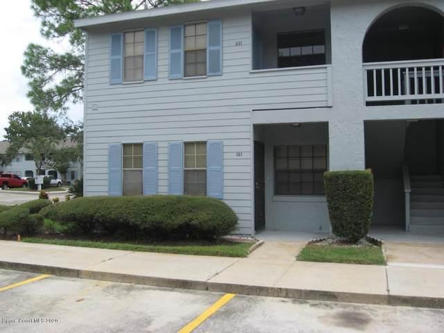 1725 Harrison Street #121, Titusville, FL 32780 (MLS #883765) :: Blue Marlin Real Estate