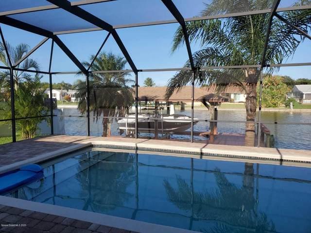 1100 N Montego Bay Drive N, Merritt Island, FL 32953 (MLS #883795) :: Blue Marlin Real Estate