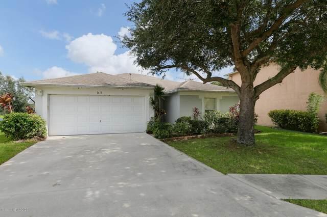 1617 Sawgrass Drive SW, Palm Bay, FL 32908 (MLS #883814) :: Blue Marlin Real Estate