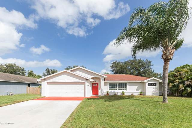 256 Gladiola Road NE, Palm Bay, FL 32907 (MLS #883922) :: Blue Marlin Real Estate