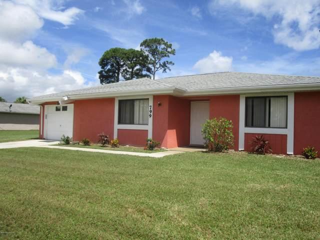 799 NE Emerson Drive NE, Palm Bay, FL 32907 (MLS #884089) :: Blue Marlin Real Estate