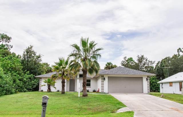 1456 Martinez Street SE, Palm Bay, FL 32909 (MLS #884169) :: Blue Marlin Real Estate