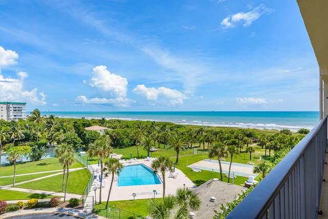 3170 N Atlantic Avenue #614, Cocoa Beach, FL 32931 (MLS #884176) :: Premium Properties Real Estate Services