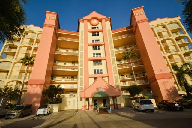 102 Riverside Drive #604, Cocoa, FL 32922 (MLS #884493) :: Blue Marlin Real Estate