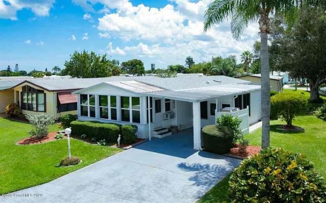 829 Periwinkle Circle, Barefoot Bay, FL 32976 (MLS #884532) :: Premium Properties Real Estate Services
