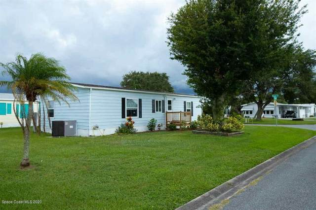 1135 Navajo Drive, Barefoot Bay, FL 32976 (MLS #884585) :: Premium Properties Real Estate Services