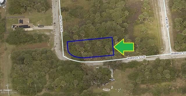 3291 Corner Lot On Halsey Avenue, Palm Bay, FL 32909 (MLS #884648) :: Blue Marlin Real Estate