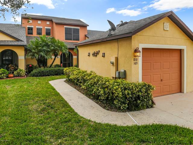 810 Luminary Circle #103, Melbourne, FL 32901 (MLS #884967) :: Engel & Voelkers Melbourne Central