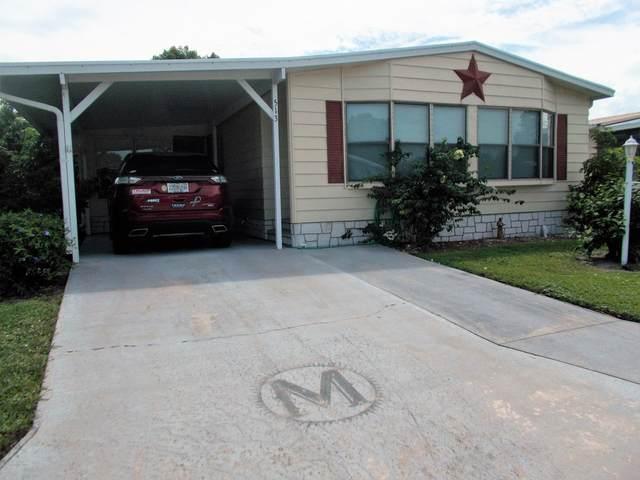 513 Sea Gull Drive, Barefoot Bay, FL 32976 (MLS #885341) :: Blue Marlin Real Estate