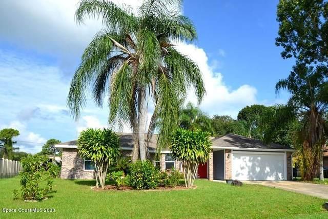 1366 Mohegan SE, Palm Bay, FL 32909 (MLS #885588) :: Blue Marlin Real Estate