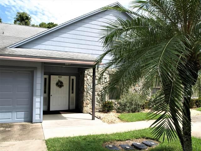 9017 Manchester Lane #21, West Melbourne, FL 32904 (MLS #885606) :: Blue Marlin Real Estate