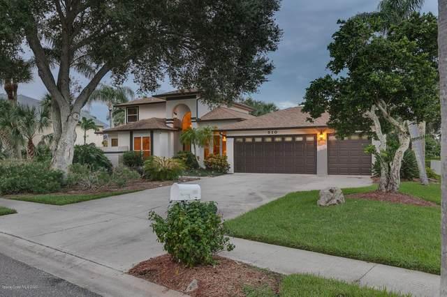 510 Apache Trl, Merritt Island, FL 32953 (MLS #885732) :: Blue Marlin Real Estate