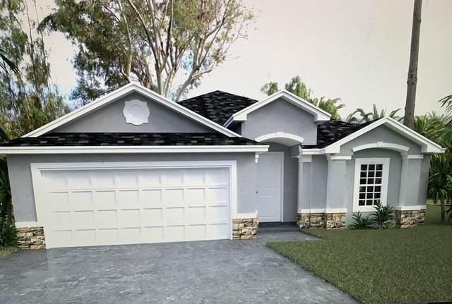 3110 SE Wendel Street SE, Palm Bay, FL 32909 (MLS #885738) :: Coldwell Banker Realty