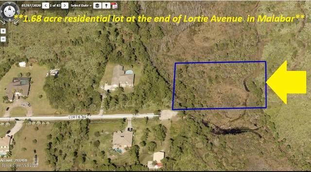 00000 Lortie Avenue, Malabar, FL 32950 (MLS #885911) :: Coldwell Banker Realty