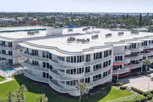 601 N Miramar Avenue #110, Indialantic, FL 32903 (MLS #886144) :: Blue Marlin Real Estate
