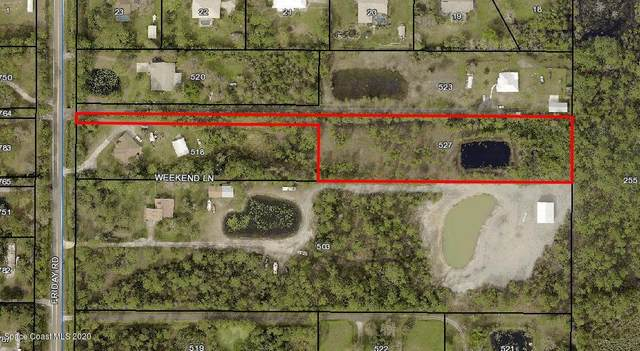 0 Friday Road, Cocoa, FL 32926 (MLS #886221) :: Blue Marlin Real Estate