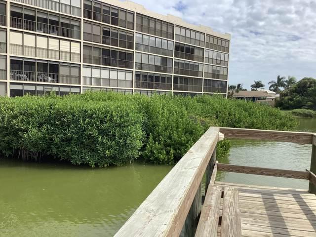 5800 N Banana River Boulevard #217, Cape Canaveral, FL 32920 (MLS #886310) :: Blue Marlin Real Estate