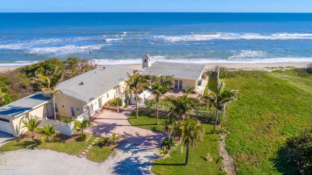 6915 S Highway A1a, Melbourne Beach, FL 32951 (MLS #886320) :: Blue Marlin Real Estate