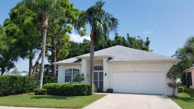 852 Villa Drive, Melbourne, FL 32940 (MLS #886587) :: Blue Marlin Real Estate
