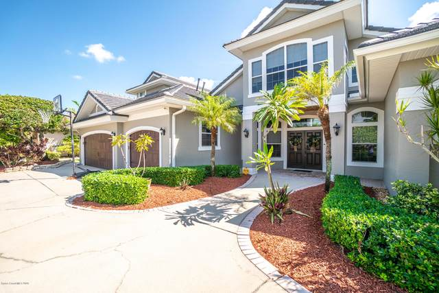 123 Island View Drive, Indian Harbour Beach, FL 32937 (MLS #886609) :: Premium Properties Real Estate Services