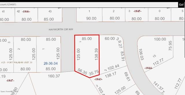1611 Hayworth Circle NW, Palm Bay, FL 32907 (MLS #886703) :: Coldwell Banker Realty