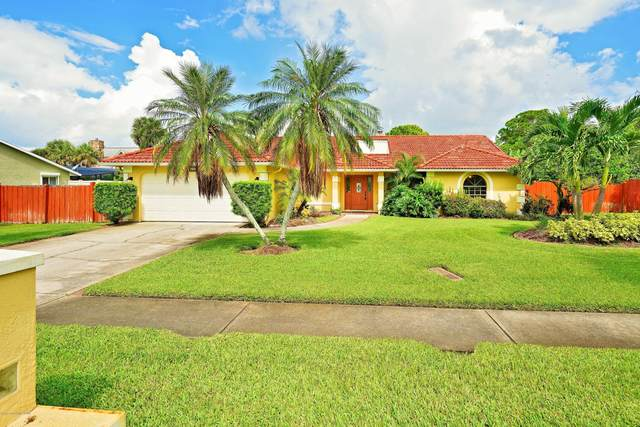 420 Indian Bay Boulevard, Merritt Island, FL 32953 (MLS #886858) :: Coldwell Banker Realty