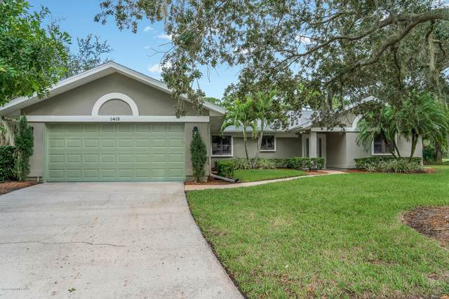 1415 Kitty Hawk Way, Melbourne, FL 32940 (MLS #887120) :: Blue Marlin Real Estate