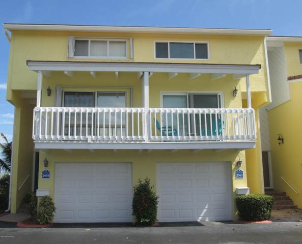 2959 S Highway A1a 4-A, Melbourne Beach, FL 32951 (MLS #887140) :: Premium Properties Real Estate Services