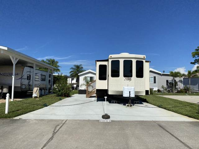 2950 Frontier Drive #78, Titusville, FL 32796 (MLS #887243) :: Coldwell Banker Realty